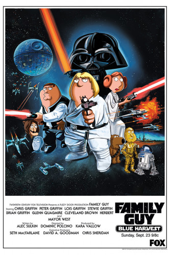 Poster Family Guy Parodia Star Wars