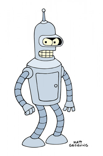Poster do Bender Futurama