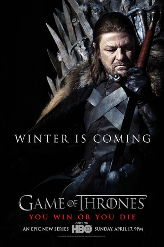 Poster Game Of Thrones 1° Temporada