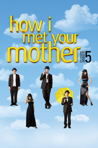 Poster HIMYM How I Met Your Mother 5° Temporada