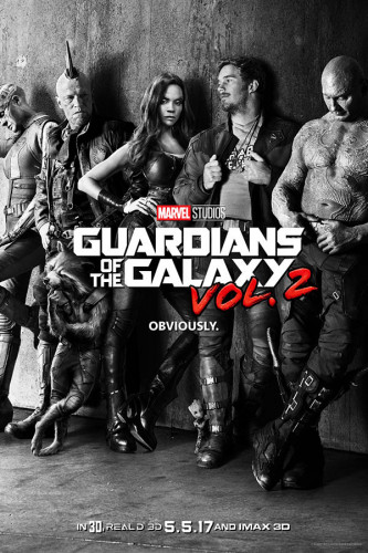Poster Guardiões Da Galaxia Guardian Of The Galaxy Vol 2