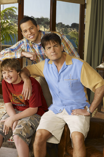 Poster Two and a Half Men 5° Temporada