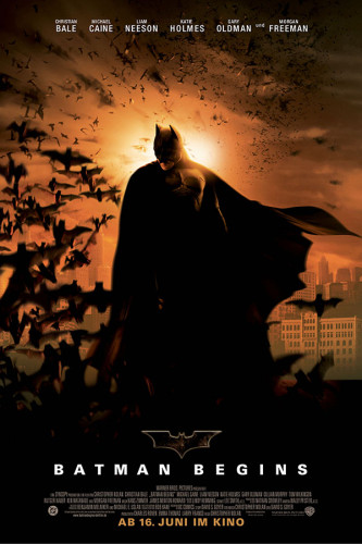 Poster Batman Begins - Christian Bale