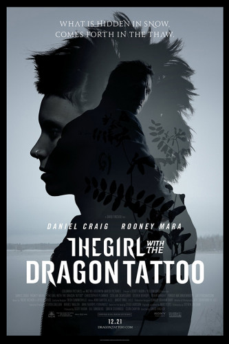 Poster The Girl With The Dragon Tatto