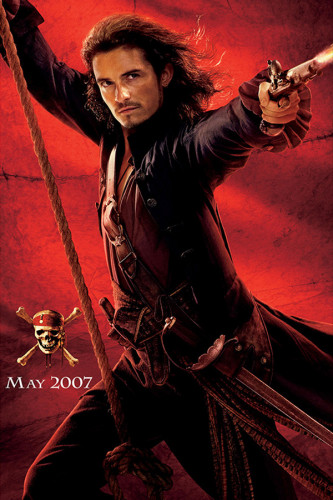 Poster Piratas do Caribe - No Fim do Mundo