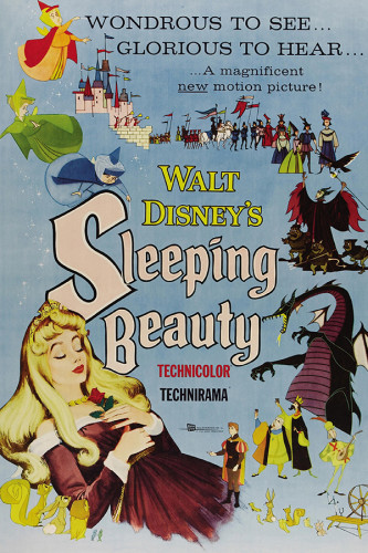 Poster A Bela Adormecida - Sleeping Beauty