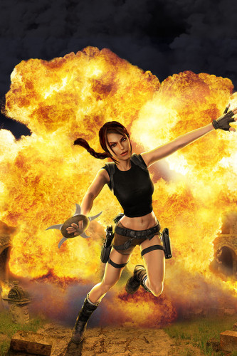Poster Tomb Raider The Action Adventure