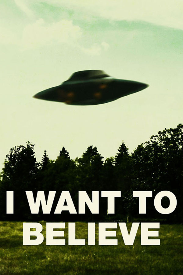 Poster I Want To Believe X Files Arquivo X Uau PostersX Files I Want To Believe Poster
