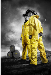 Poster Breaking Bad 3ª Temporada - Séries