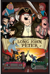 Poster Family Guy Parodia Piratas do Caribe