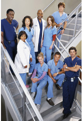 Poster Greys Anatomy 2ª Temporada - Séries