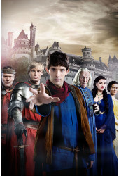 Poster Merlin 1ª Temporada - Séries