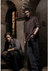 Poster Supernatural - Sobrenatural 4ª Temporada - Séries