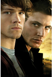 Poster Supernatural - Sobrenatural 3ª Temporada - Séries