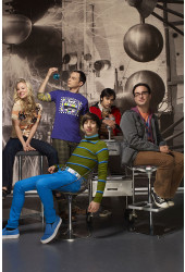 Poster Big Bang Theory 2ª Temporada - Séries