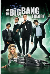 Poster Big Bang Theory 4ª Temporada - Séries