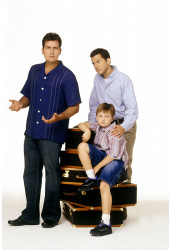 Poster Two and a Half Men 1ª Temporada - Séries