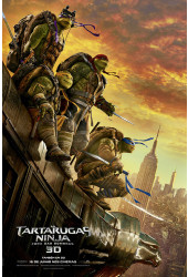 Poster Tartarugas Ninjas - Teenage Mutant Ninja Turtles - Out Of The Shadows - Filmes