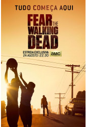 Poster Fear The Walking Dead Ftwd - Séries