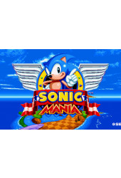 Poster Sonic Mania - Games