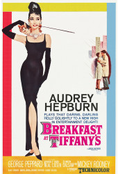 Poster Bonequinha Luxo - Breakfast At Tiffany - Audrey - Filmes