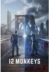 Poster 12 Monkeys - 12 Macacos - Séries