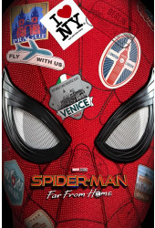 Poster Spider Man Far From Home - Homem Aranha Longe De Casa