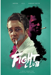 Poster Clube da Luta - Fight Club - Alternativo - Filmes