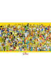 Poster Simpsons Personagens - Séries