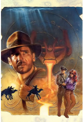 Poster Indiana Jones And The Fate Of Atlantis
