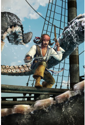 Poster Piratas do Caribe - Games