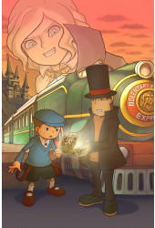 Poster Professor Layton and the Diabolical - Games