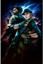 Poster Resident Evil 5 lost In Nightmares