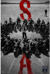 Poster Soa Sons Of Anarchy Filhos Anarquia - Séries