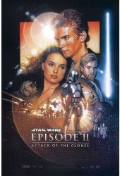 Poster Star Wars: Episódio II - Ataque dos Clones - Episode II - Attack of the Clones - Filmes