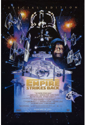 Poster Star Wars: Episódio V - O Império Contra-Ataca - The Empire Strikes Back - Filmes