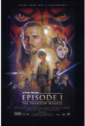 Poster Star Wars: Episódio I - A Ameaça Fantasma - The Phantom Menace - Filmes