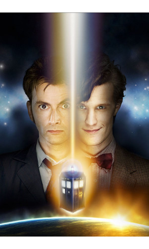 Poster Doctor Who David Tennat Matt Smith 5° Temporada
