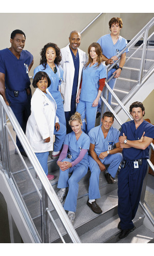 Poster Greys Anatomy 2° Temporada
