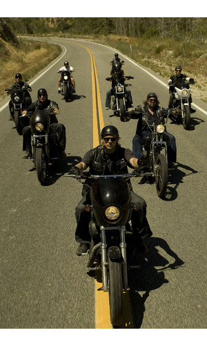 Poster Sons of Anarchy 1° Temporada