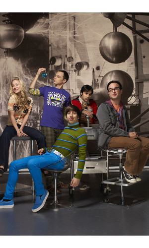 Poster Big Bang Theory 2° Temporada