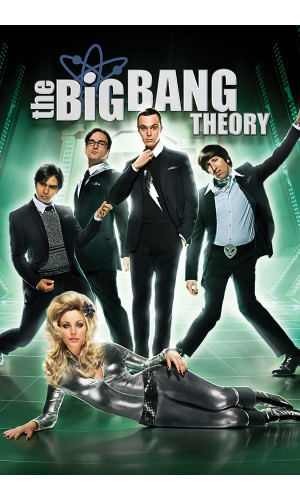 Poster Big Bang Theory 4° Temporada