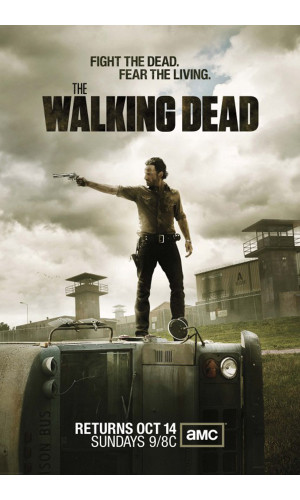 Poster The Walking Dead 3° Temporada