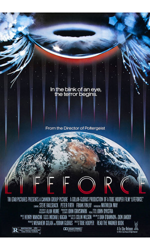 Poster Lifeforce Forca Sinistra