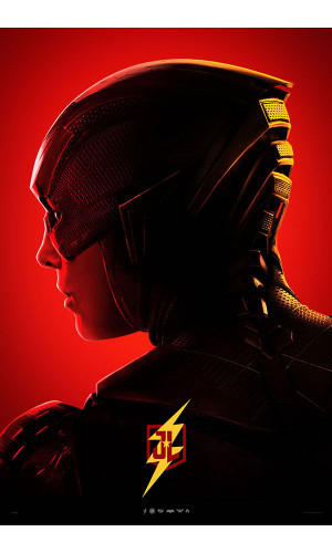 Poster Liga Da Justiça Justice League Flash