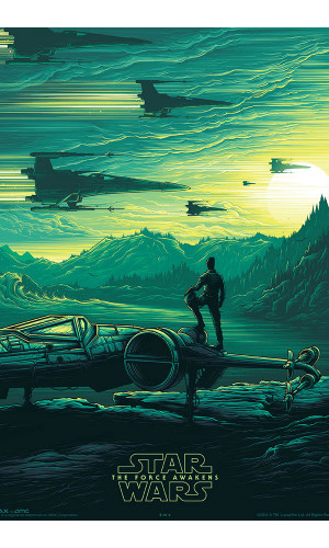 Poster Star Wars Force Awekens
