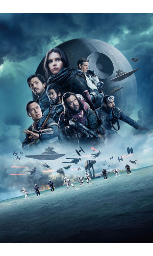 Poster Rogue One A Star Wars History