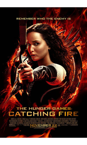 Poster Jogos Vorazes Em Chamas The Hunger Games Catching Fire