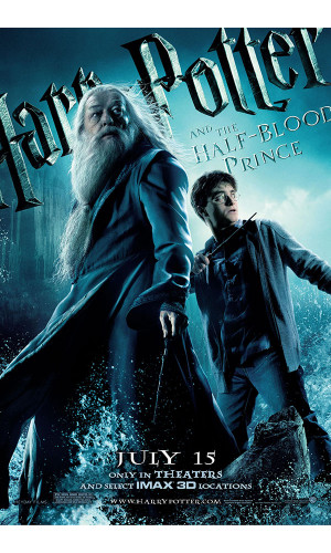 Poster Harry Potter 6 e O Enigma do Principe