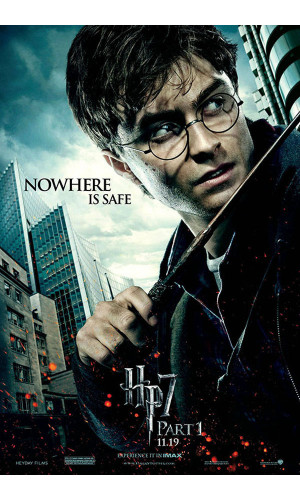 Poster Harry Potter E As Reliquias Da Morte Parte